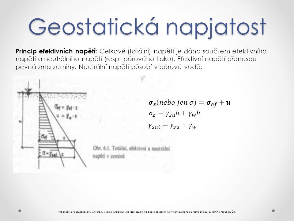 Geostatická napjatost
