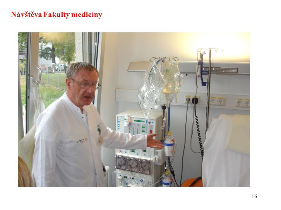 Návštěva Fakulty medicíny