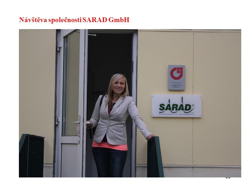 Návštěva společnosti SARAD GmbH