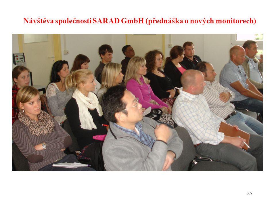 Návštěva společnosti SARAD GmbH (přednáška o nových monitorech)