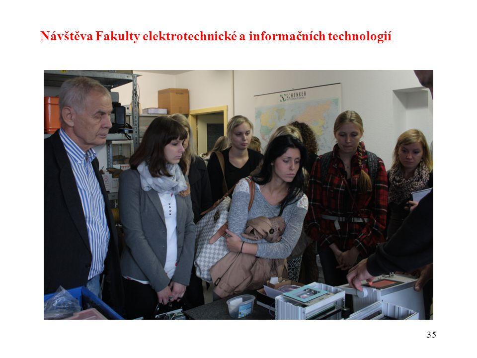 Návštěva Fakulty elektrotechnické a informačních technologií