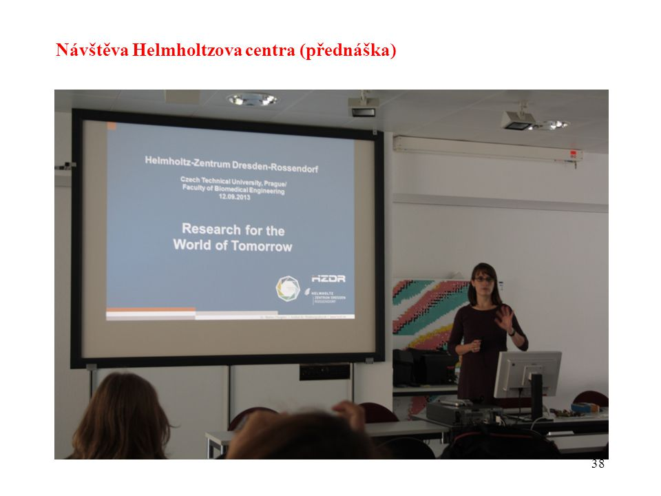 Návštěva Helmholtzova centra (přednáška)