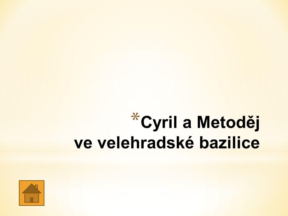 Cyril a Metoděj ve velehradské bazilice