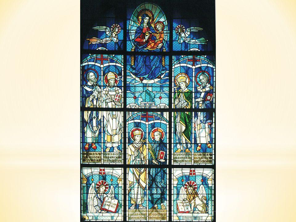 Jedna z kaplí velehradské baziliky nese jméno Panny Marie, matky jednoty křesťanů.