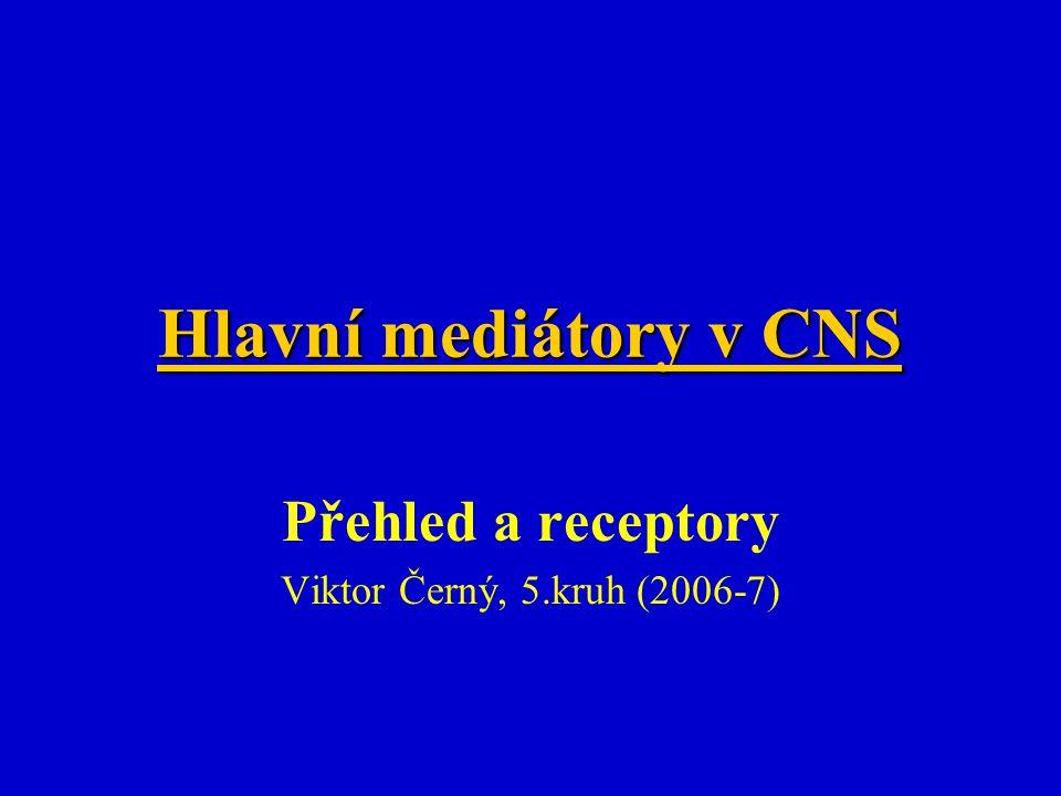 Přehled a receptory Viktor Černý, 5.kruh (2006-7)