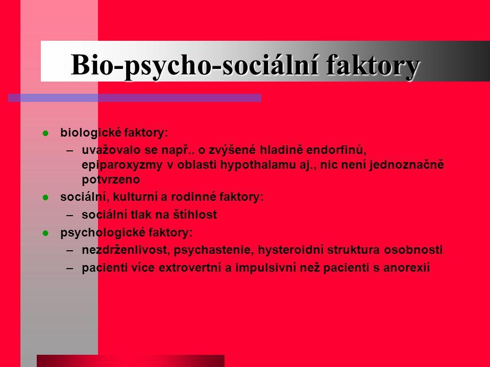 Bio-psycho-sociální faktory