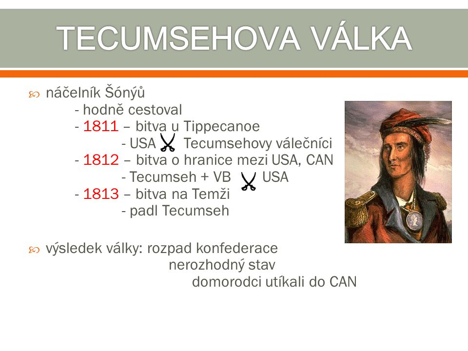 TECUMSEHOVA VÁLKA