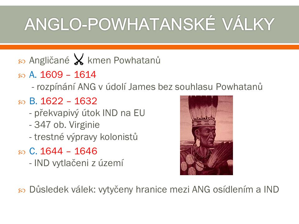 ANGLO-POWHATANSKÉ VÁLKY