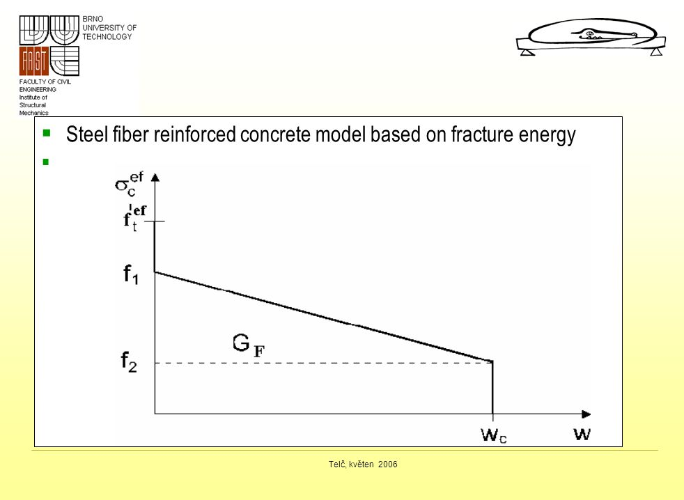Steel fiber reinforced concrete model based on fracture energy