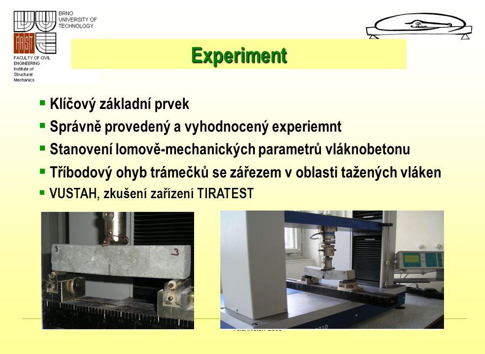 Experiment Klíčový základní prvek