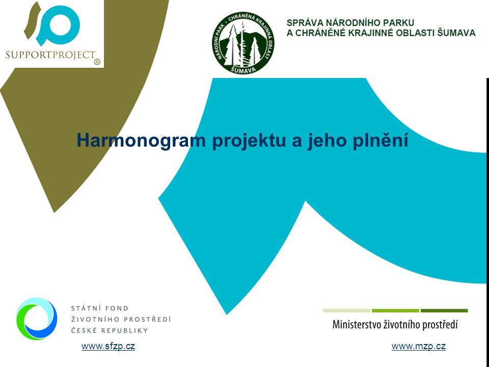 Harmonogram projektu a jeho plnění