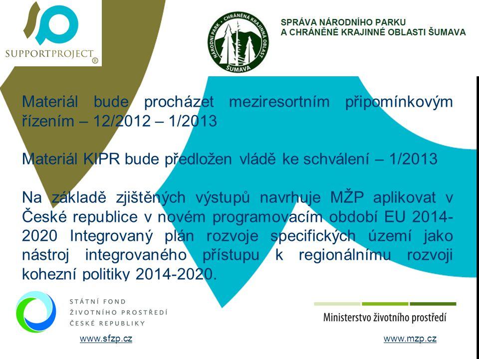STRUČNÉ ÚDAJE O FIRMĚ Materiál bude procházet meziresortním připomínkovým řízením – 12/2012 – 1/2013.