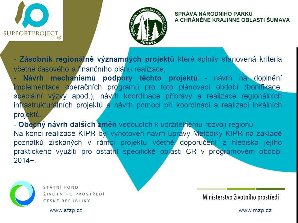 STRUČNÉ ÚDAJE O FIRMĚ - Zásobník regionálně významných projektů které splnily stanovená kriteria včetně časového a finančního plánu realizace,