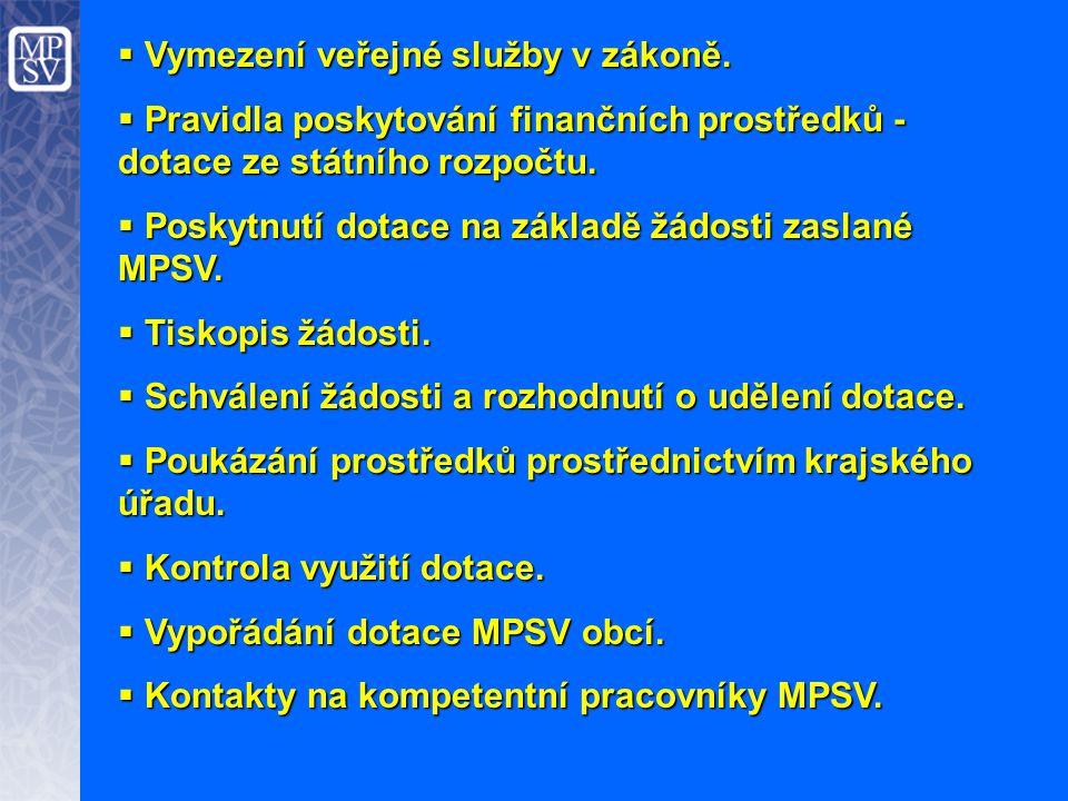 Vymezení veřejné služby v zákoně.