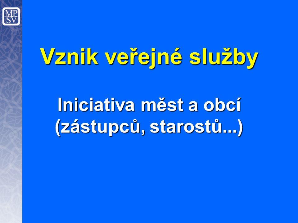 Iniciativa měst a obcí (zástupců, starostů...)