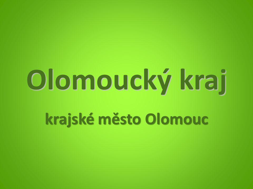 Olomoucký kraj krajské město Olomouc
