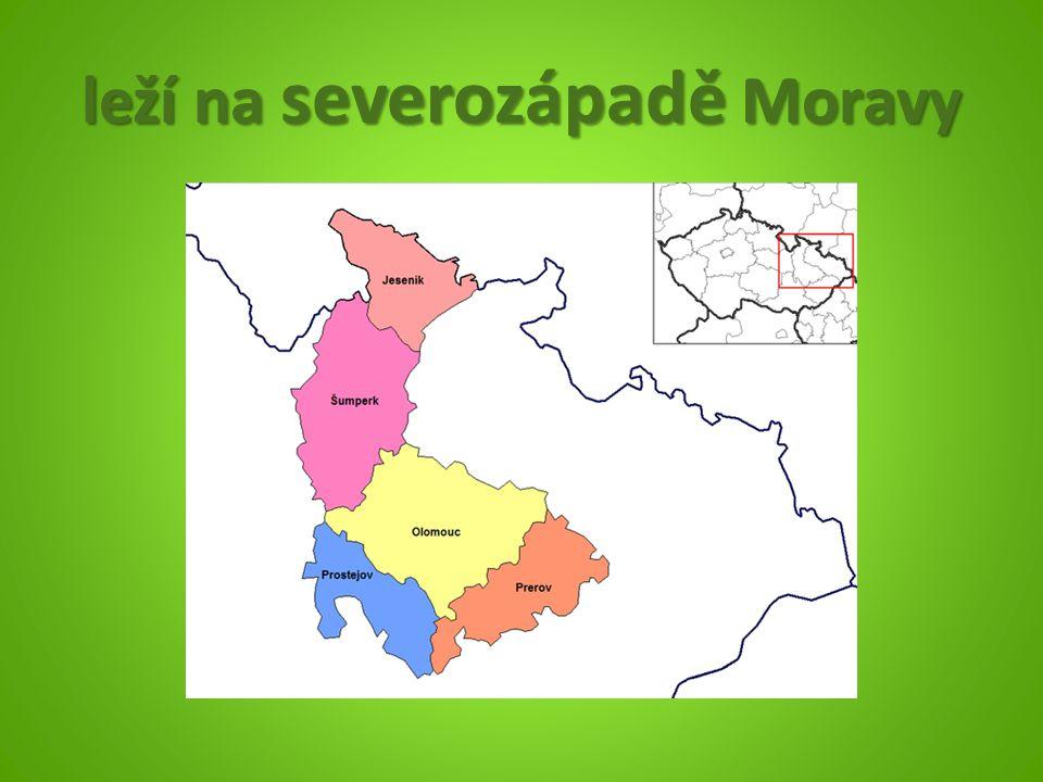 leží na severozápadě Moravy