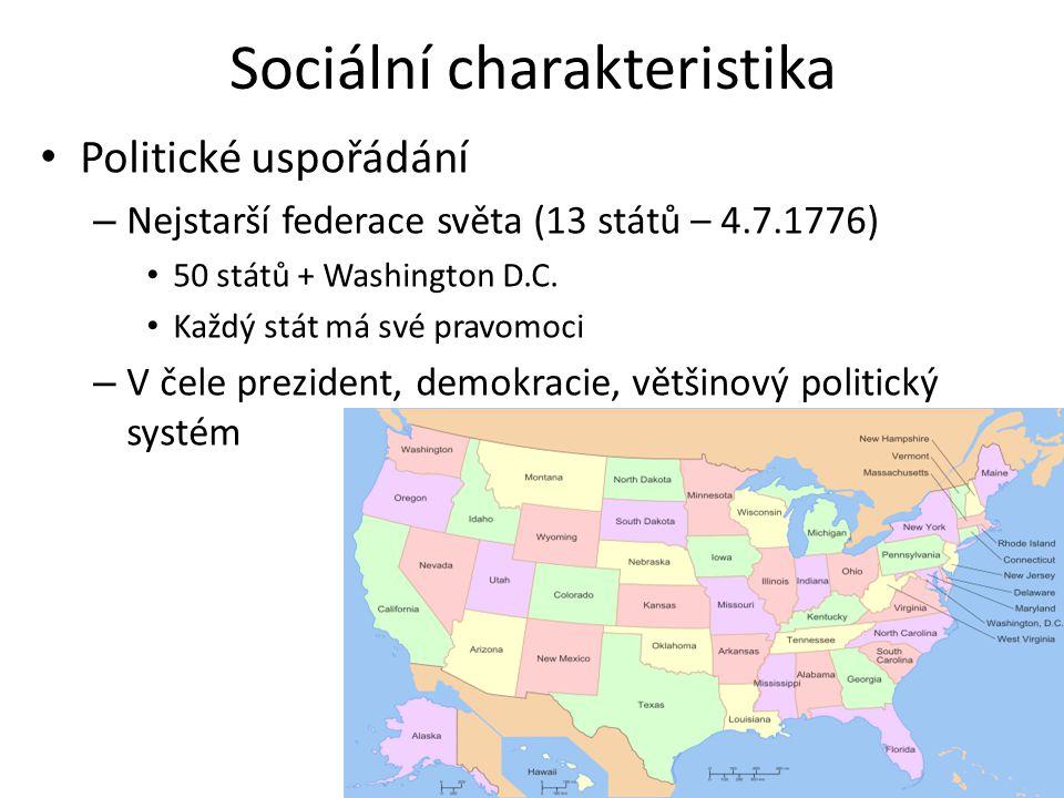 Sociální charakteristika