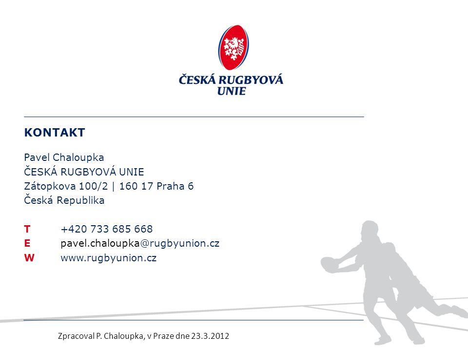 Zpracoval P. Chaloupka, v Praze dne 23.3.2012