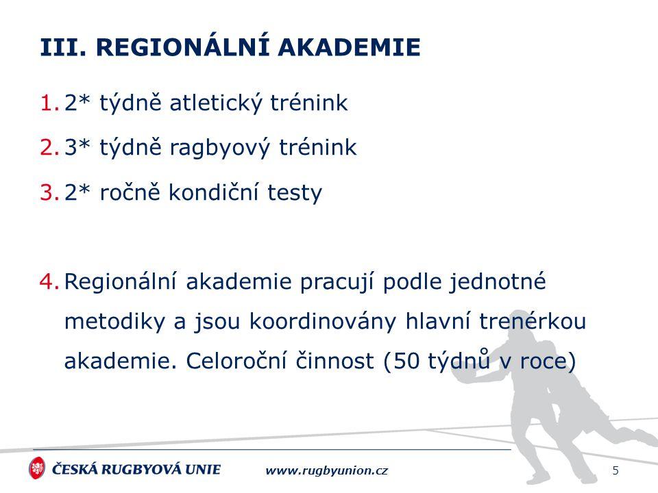 III. Regionální Akademie