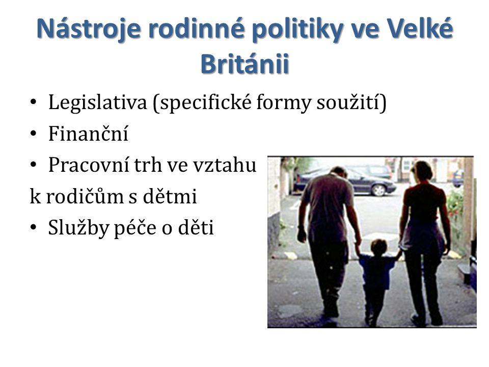 Nástroje rodinné politiky ve Velké Británii