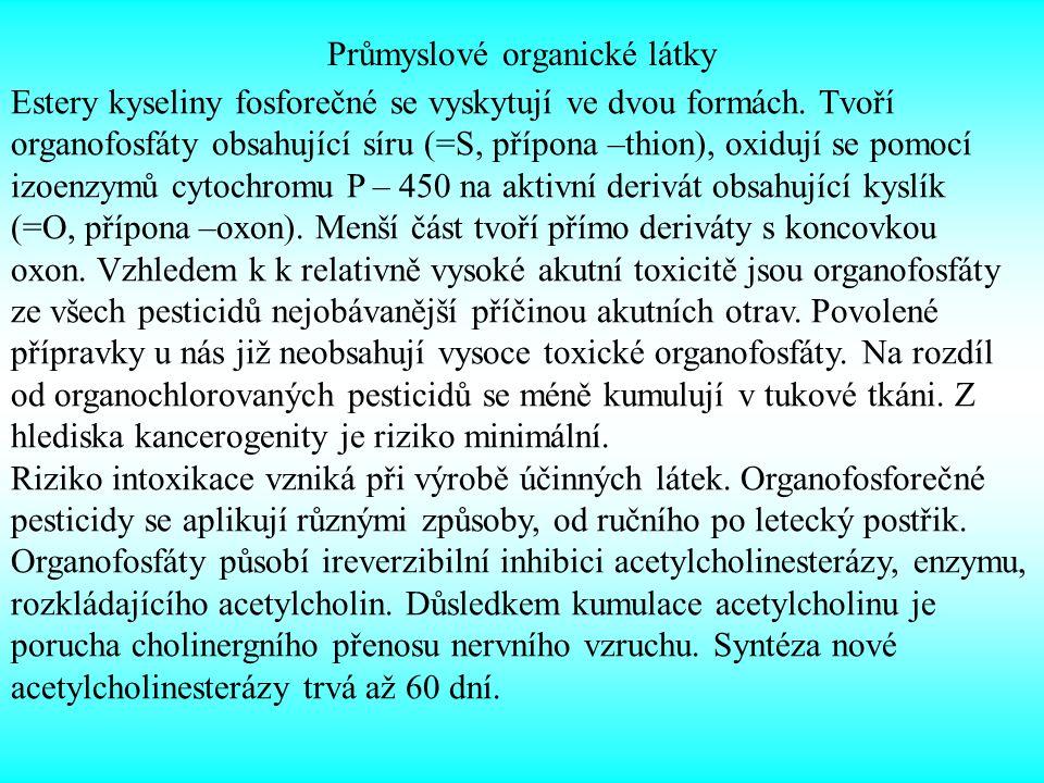 Průmyslové organické látky