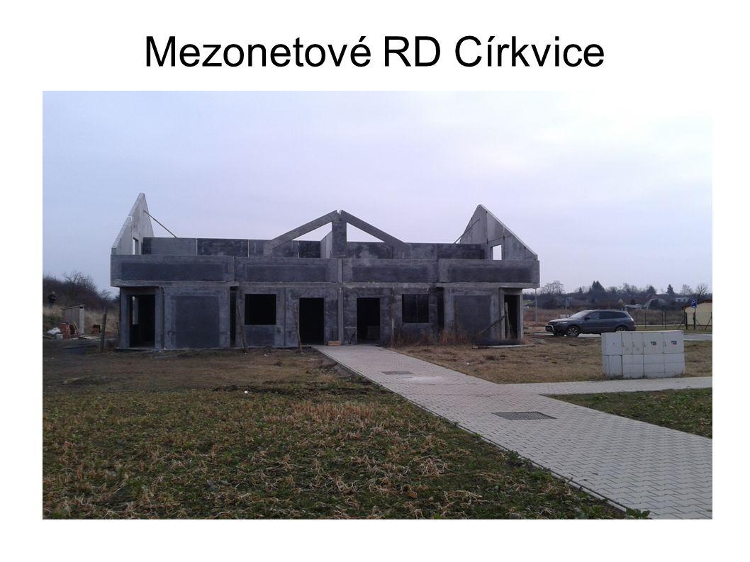 Mezonetové RD Církvice