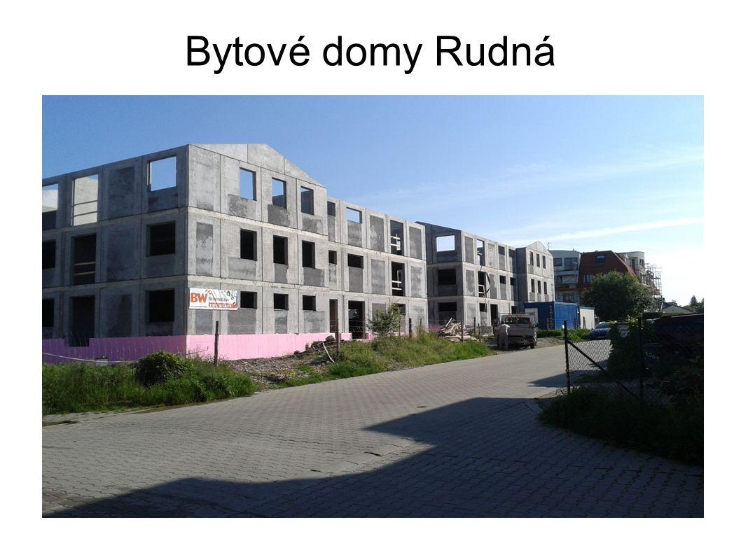 Bytové domy Rudná