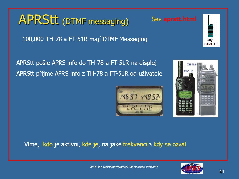 APRStt (DTMF messaging)
