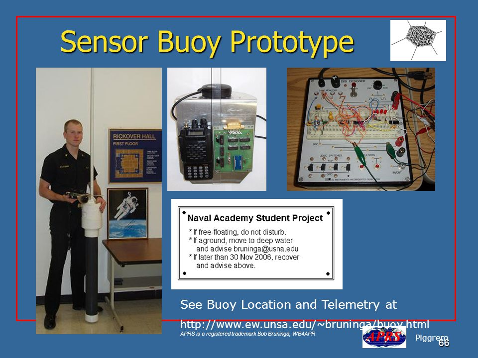 Sensor Buoy Prototype See Buoy Location and Telemetry at