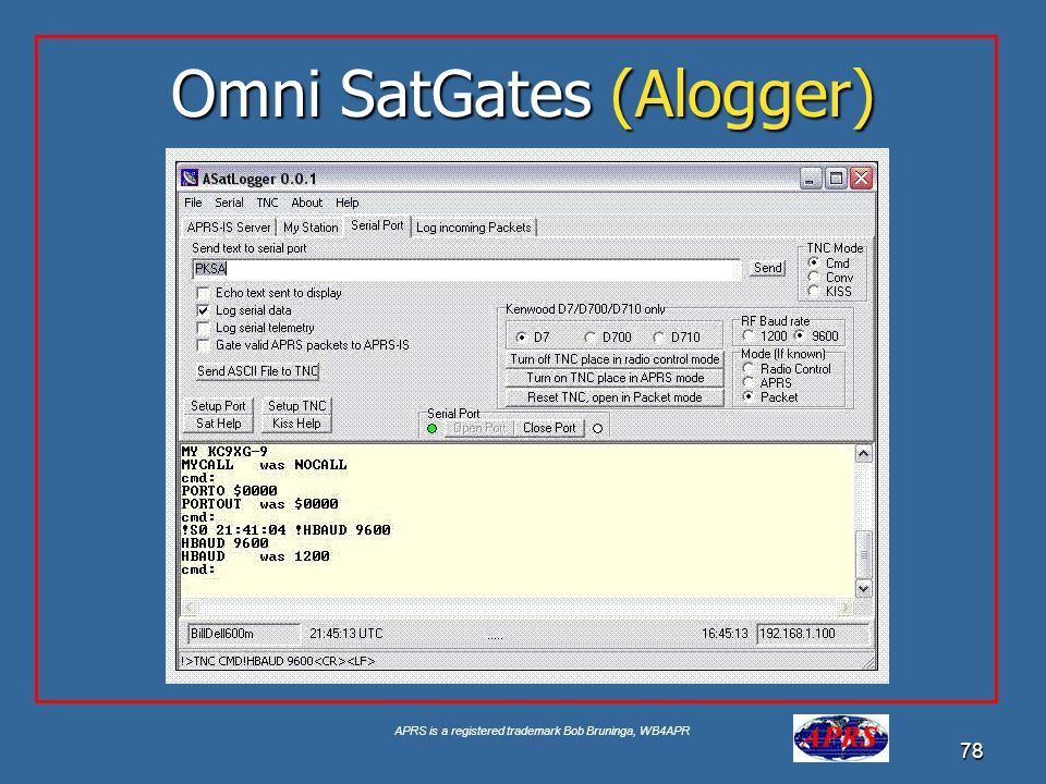 Omni SatGates (Alogger)