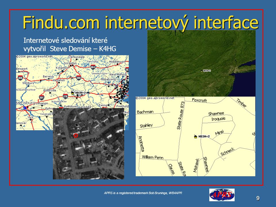 Findu.com internetový interface