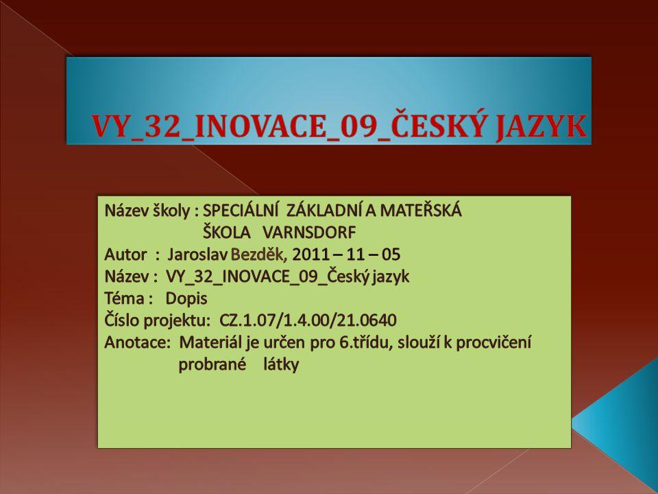 VY_32_INOVACE_09_ČESKÝ JAZYK