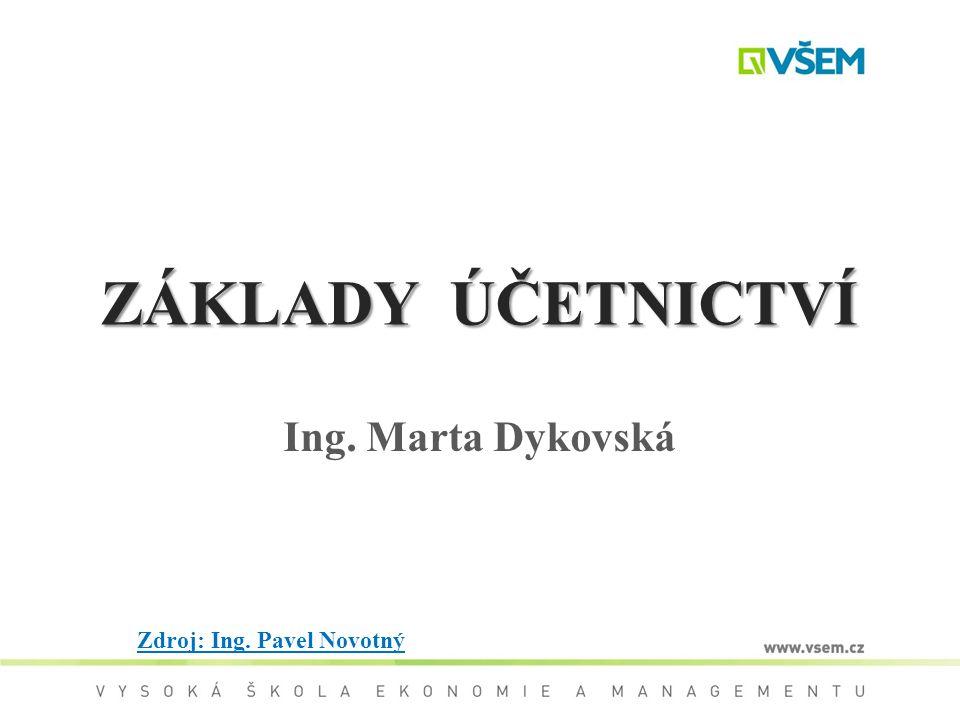 Ing. Marta Dykovská Zdroj: Ing. Pavel Novotný