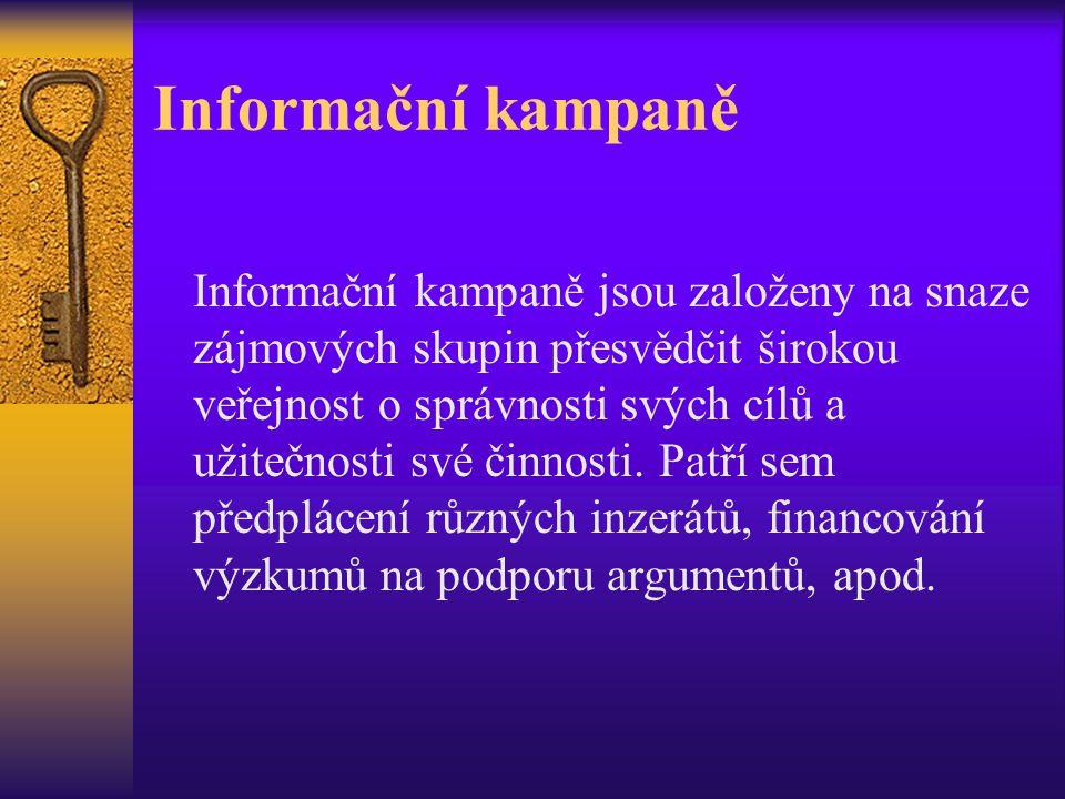 Informační kampaně