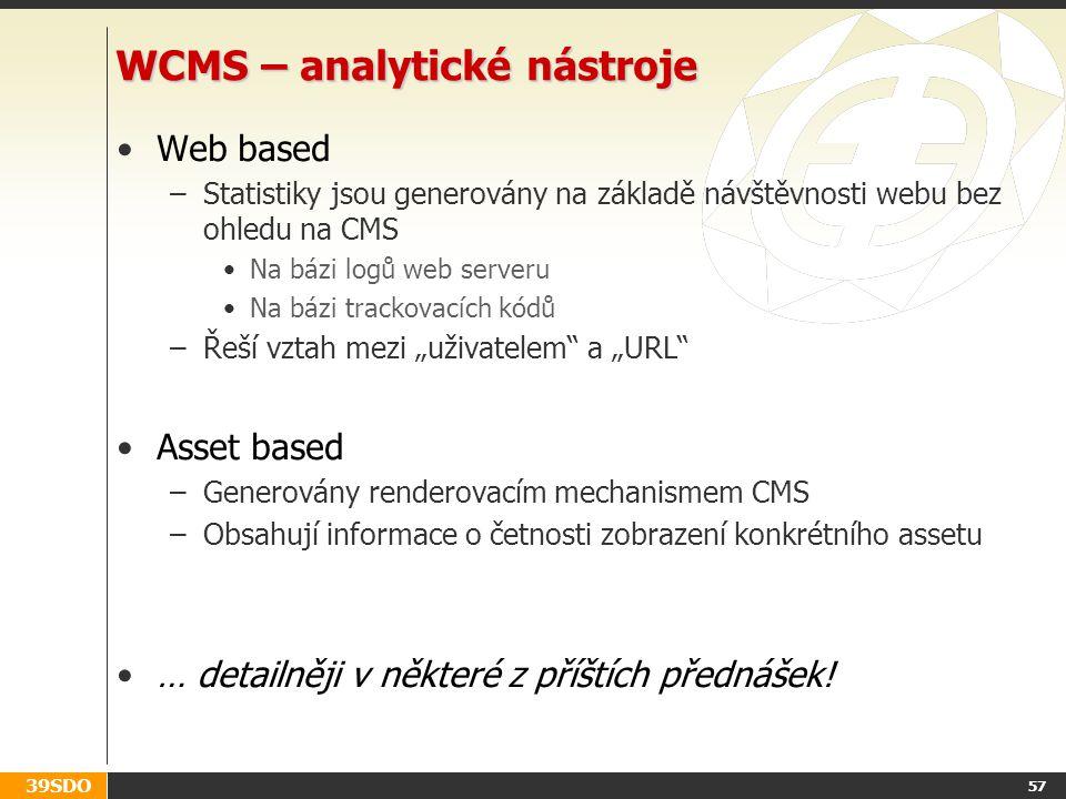 WCMS – analytické nástroje