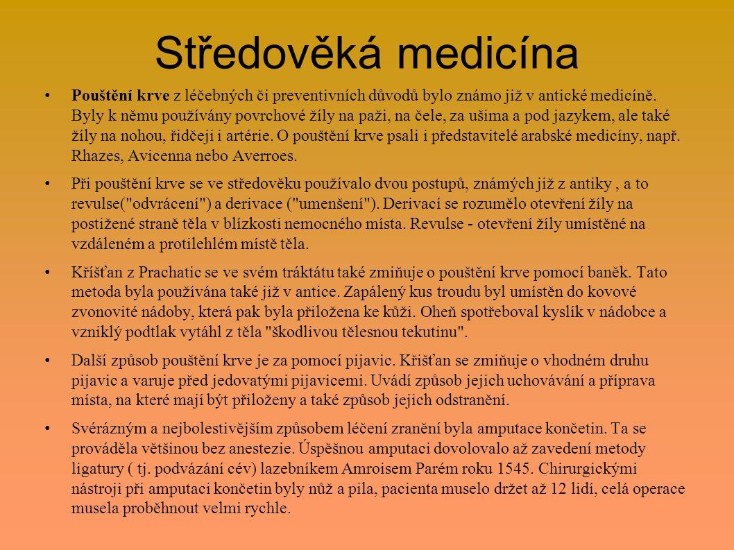 Středověká medicína