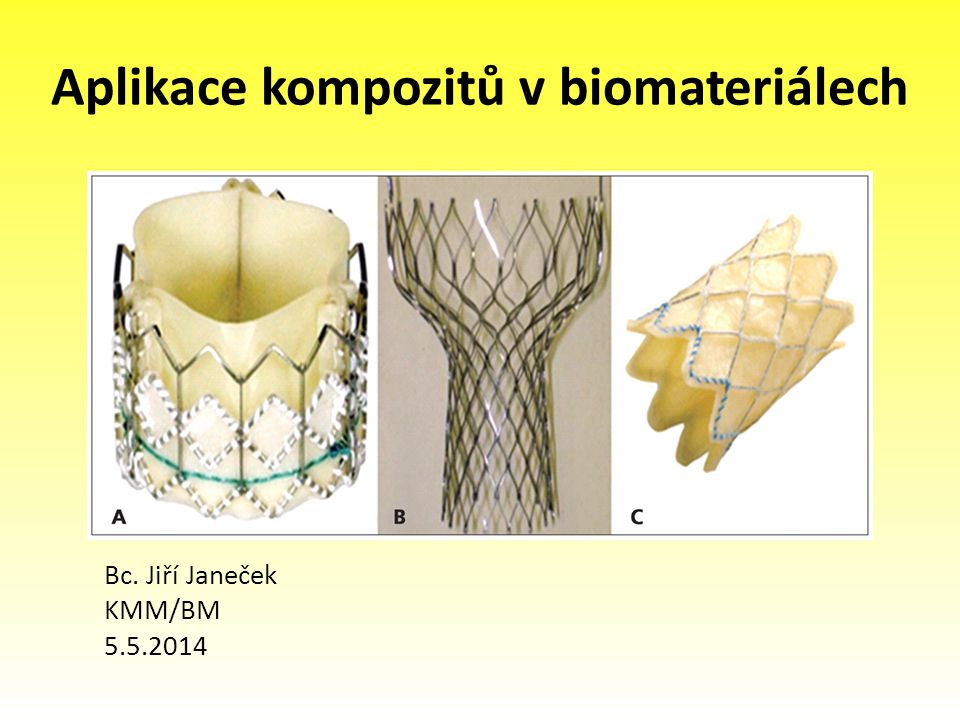 Aplikace kompozitů v biomateriálech