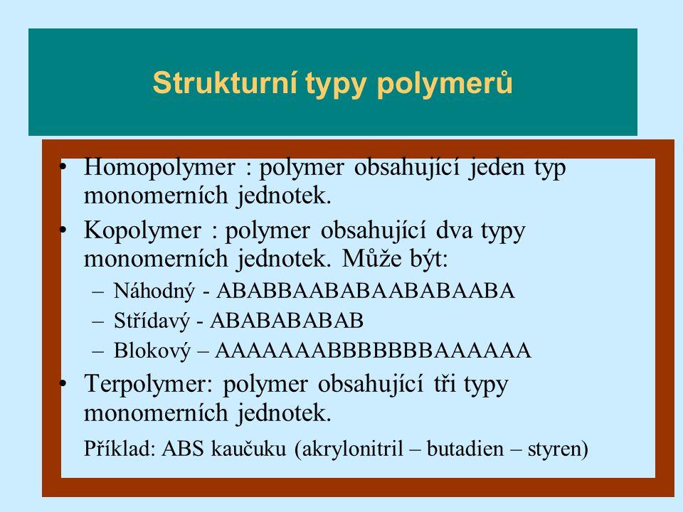 Strukturní typy polymerů