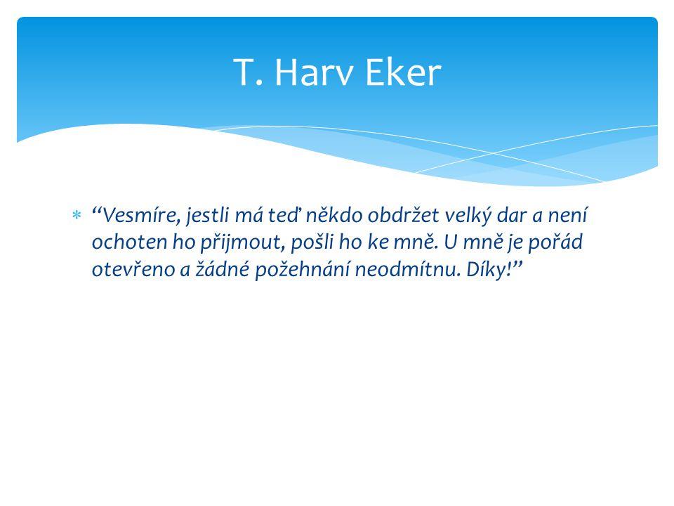 T. Harv Eker
