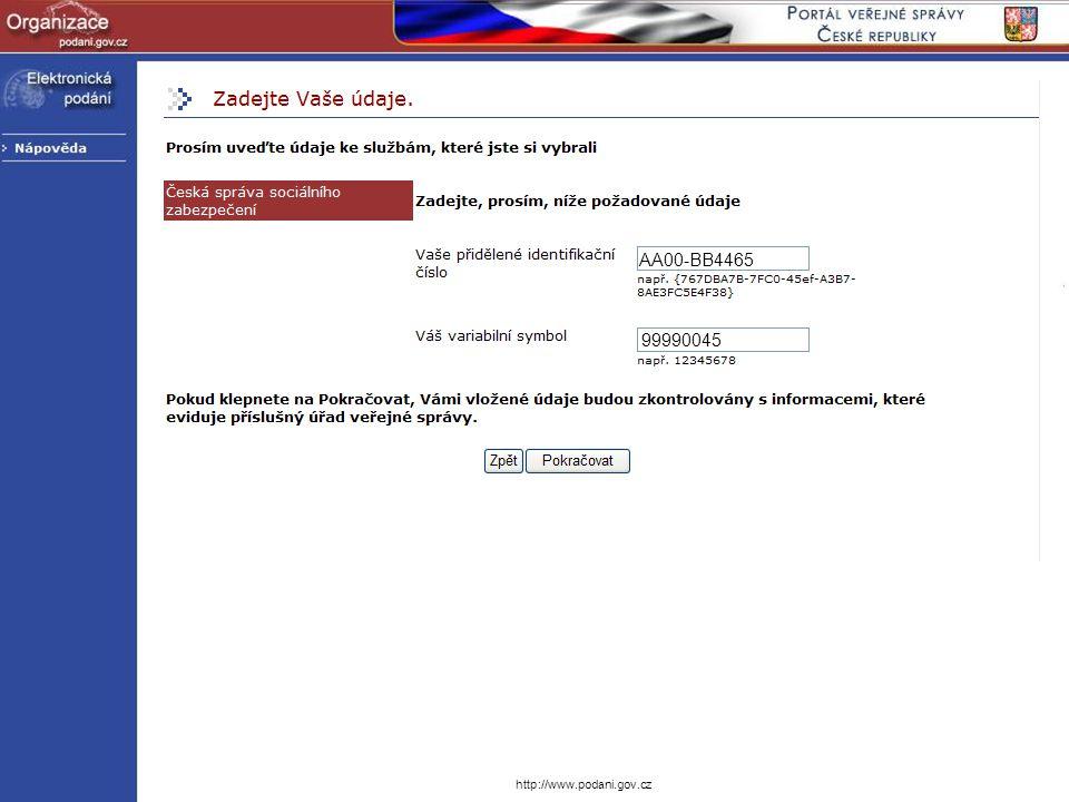 AA00-BB4465 99990045 http://www.podani.gov.cz