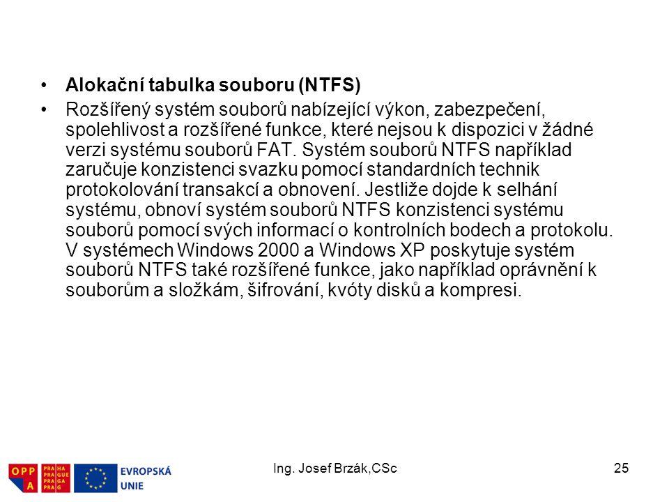 Alokační tabulka souboru (NTFS)