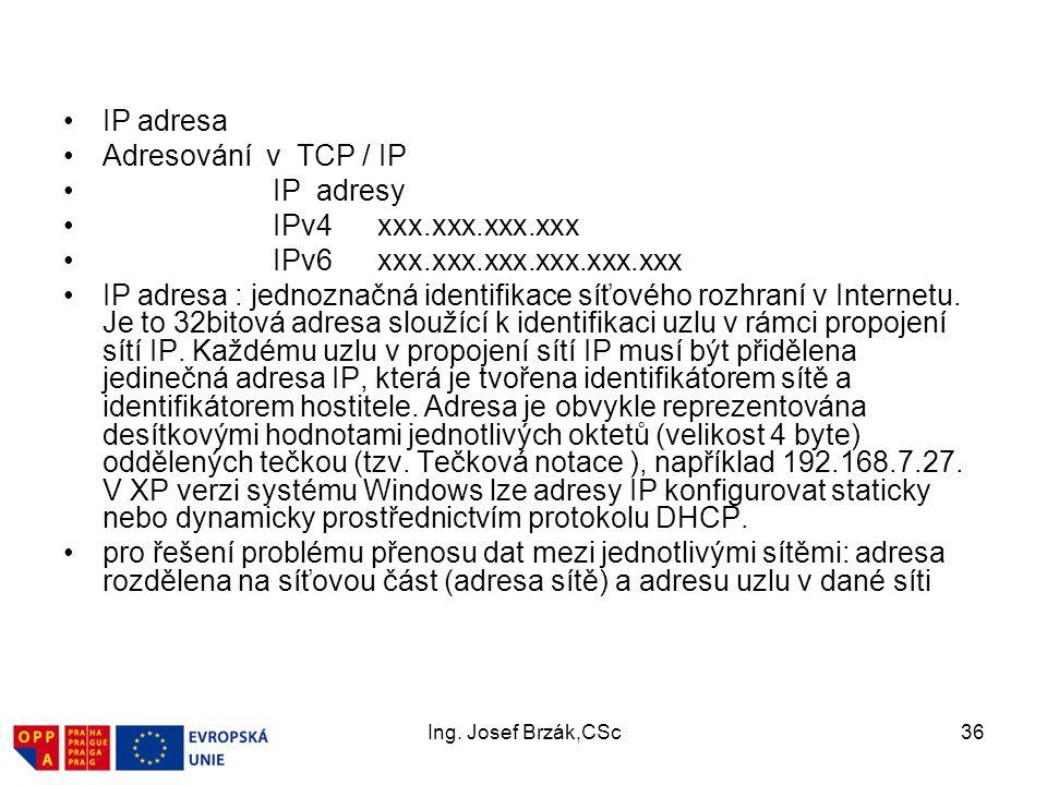 IPv6 xxx.xxx.xxx.xxx.xxx.xxx