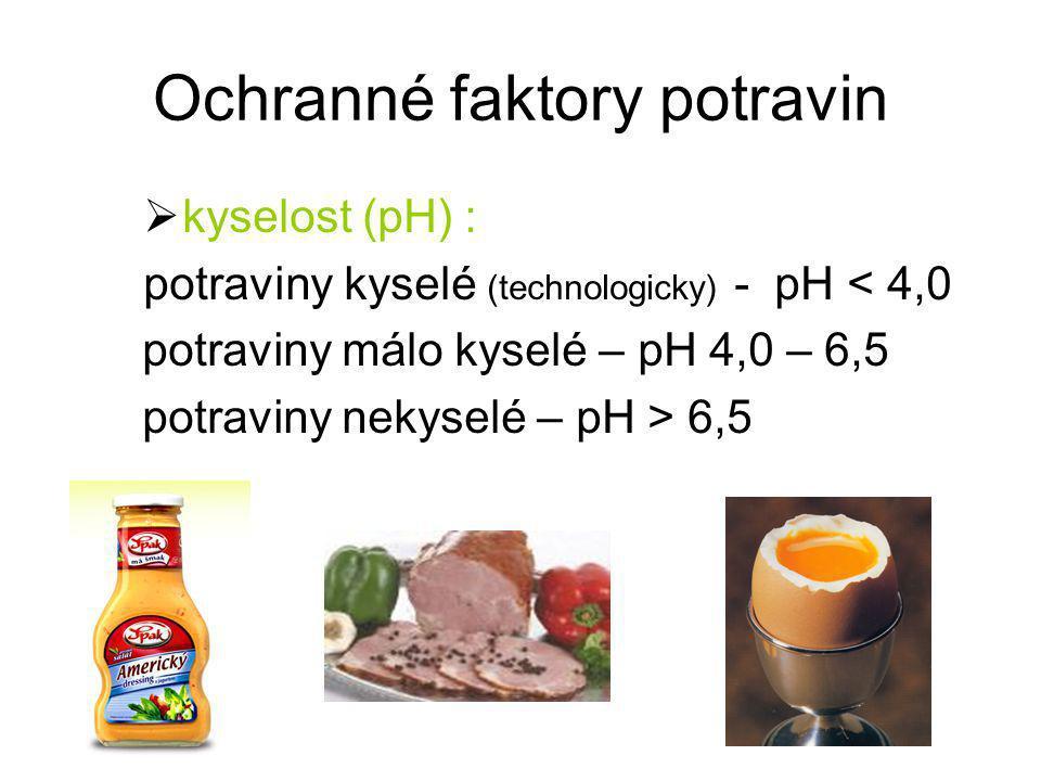 Ochranné faktory potravin