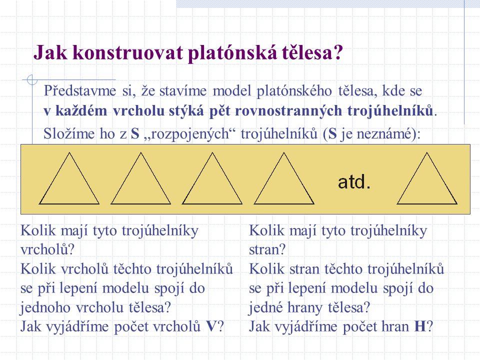 Jak konstruovat platónská tělesa