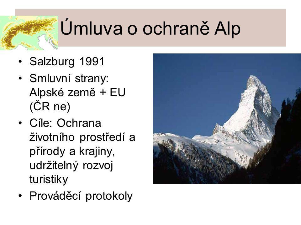 Úmluva o ochraně Alp Salzburg 1991