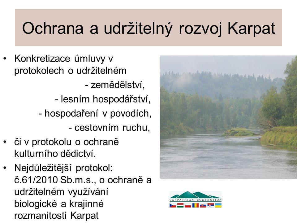 Ochrana a udržitelný rozvoj Karpat