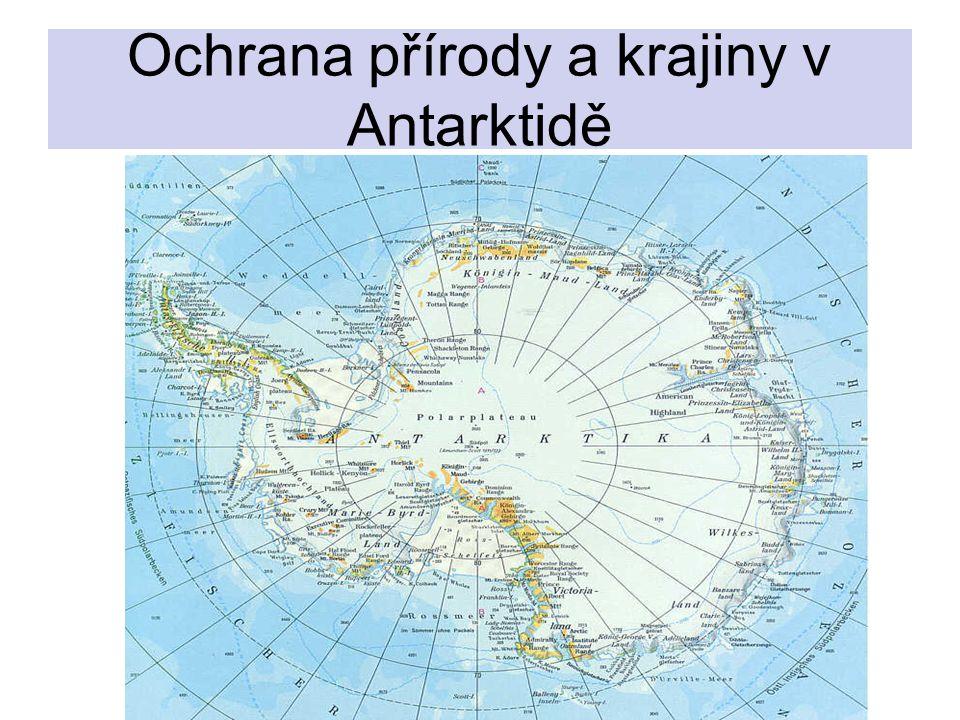 Ochrana přírody a krajiny v Antarktidě