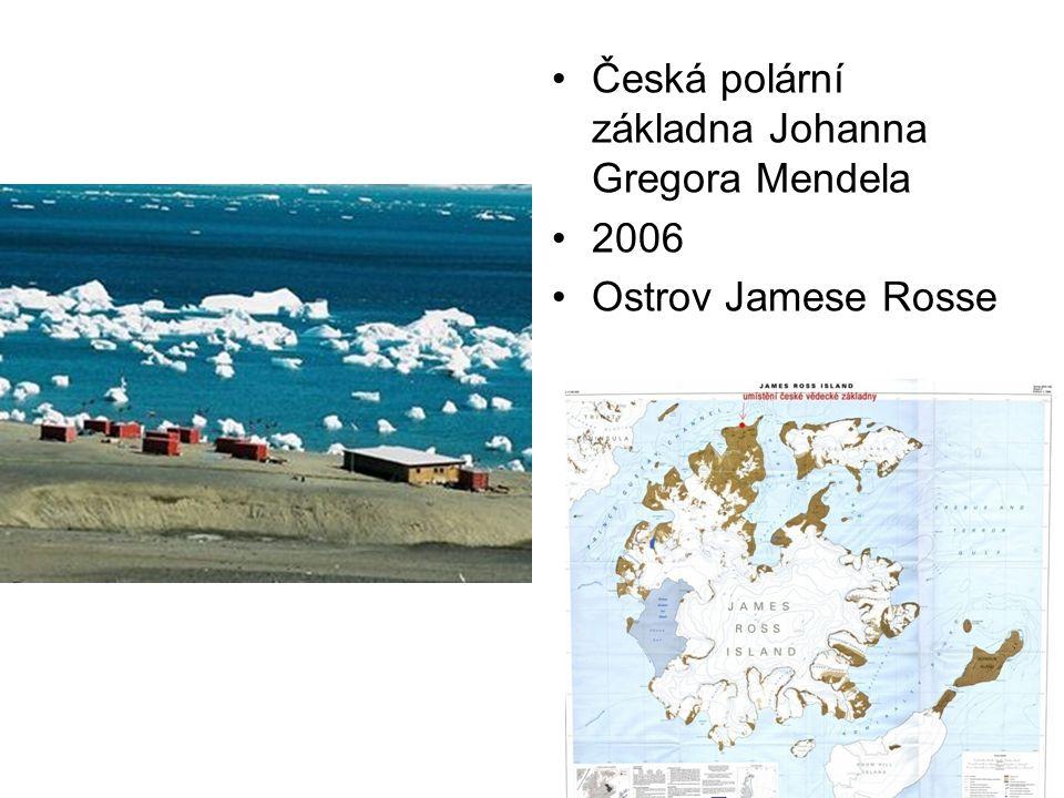 Česká polární základna Johanna Gregora Mendela