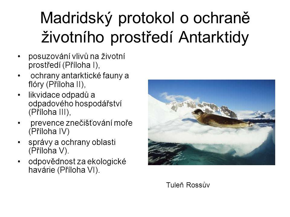 Madridský protokol o ochraně životního prostředí Antarktidy